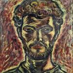 Autoportret - 40 x 50 cm, guase