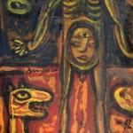 Anubis - 35 x 65 cm, guase