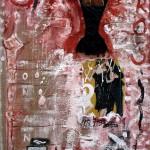 Eros - 80 x 110 cm, acril panza