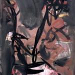 Lupta - 70 x 100 cm, acril panza