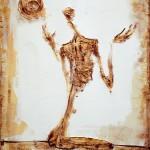 Ascet - 50 x 65 cm, acril panza
