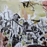 Jazz - 130 x 90 cm, acril panza