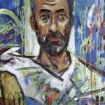 Carstina de la Studina - 130 x 180 cm, acrilice panza