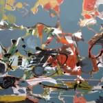 Dinamica - 250 x 170 cm, acrilice panza